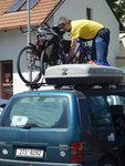 Důležité je hlavně sundat kola ze střechy